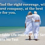 Affordable Life Insurance For Senior Citizens
