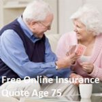 Free Online Insurance Quote Age 75